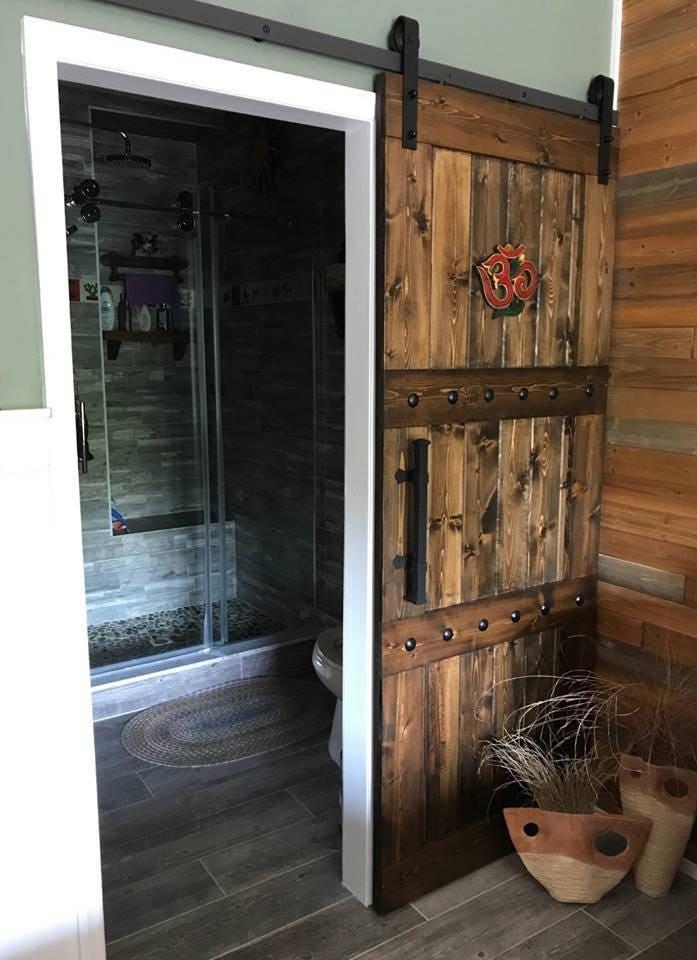 Horizon Interior Barn Door Sliding Wooden Door Barn