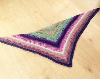 Reyna style shawl hand made