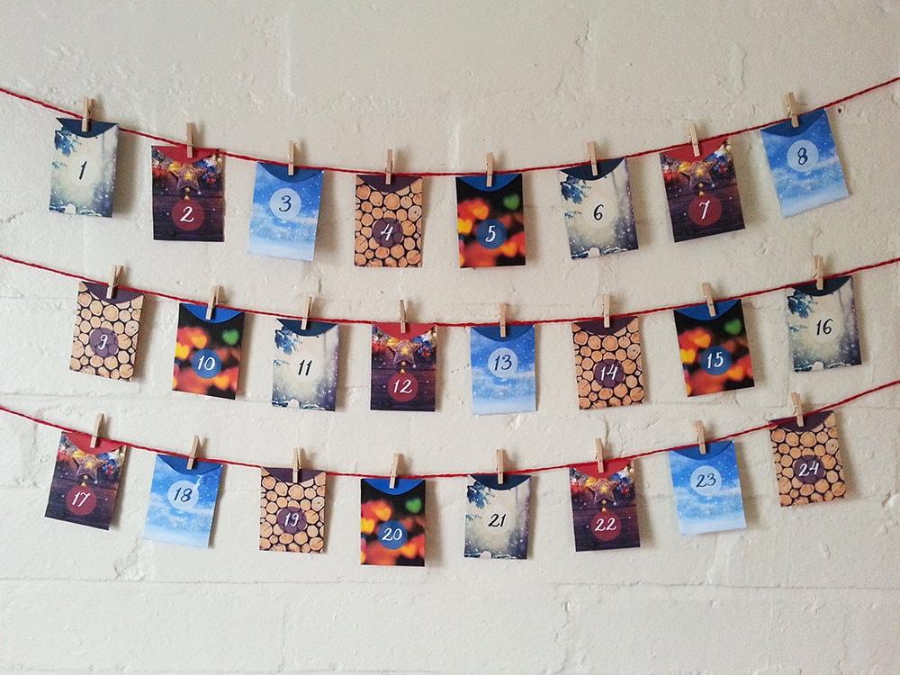 Advent Calendar Self Made : Self care mindfulness advent calendar printable digital