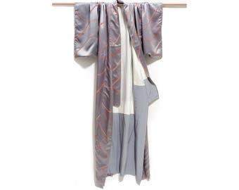 silk robe, kimono robe, kimono, robe vintage, bride robe, bridesmaid robe, bridal robes, caftan, kaftan, silk kimono robe, bridal robe, silk
