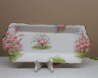 Royal Albert Blossom Time Sandwich Tray