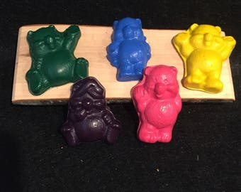 Teddy Bear Crayons! Party favors. Bears