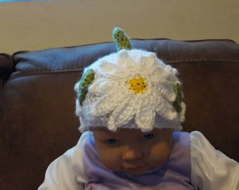 Baby Girl Crochet Hat