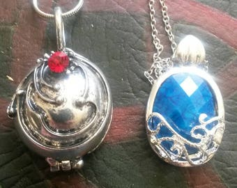 Vampire inspired locket and pendant