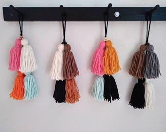 Tassel Hanging Decor | Bohemian Doorknob Hanger