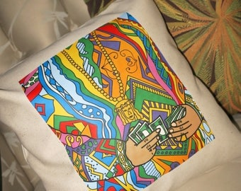 Coogi Throw Pillow