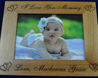 Mothers Day Gifts ~ Birthday Gift For Mom ~ Baby Frame ~ Custom Frames ~ New Baby Gift ~ Picture Frames ~ Frames For Baby ~ Great Mom Gifts