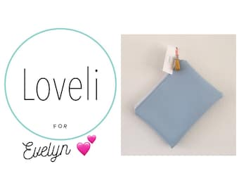 For Evelyn- Baby Blue Purse