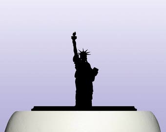 Acrylic Statue Of Liberty Cake Topper