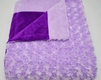 Purple & Lavender Blanket