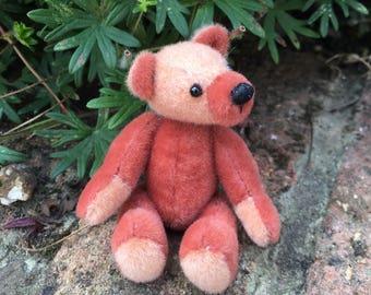 Miniature artist bear ooak