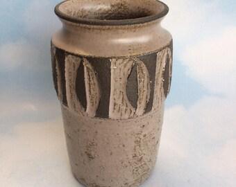 "6"" Lovemose Denmark Pottery Vase Vintage Danish Mid Century Modern"