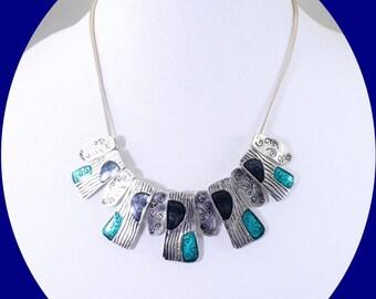 Vintage Necklace Statement Necklace Art Deco Necklace Vintage Jewelry Costume Jewelry Boho Necklace Unique Necklace Gift For Mom Jewelry