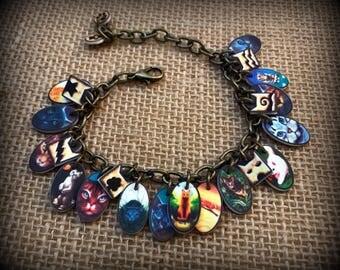 Warrior Cats - Warrior Cats Jewelry - Warrior Cats Bracelet - Charm Bracelet - Young Reader - Warrior Cats Books - Boy - Girl - Fan - Reader