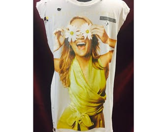 Custom Distressed Carrie Underwood Blown Away Tour Shirt