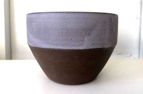 modern ceramic bowl -kitchenware- purple/gray