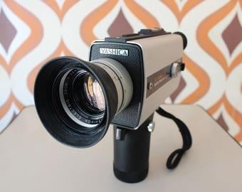Yashica Electro 8 LD4 retro vintage super 8 kodak 8mm movie cine film camera 1970s film maker Canon Agfa