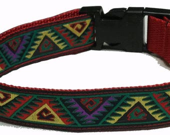 Dog Collar, Aztec
