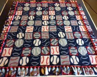 Baseball fleece blanket, Softball fleece blanket, Sports blanket, Fleece blanket, Baseball throw, Softball throw, Baseball bedding