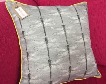 Handmade Dragonfly Cushion Cover