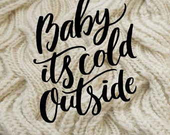 A6 Baby it's Cold Outside Dashboard Digital