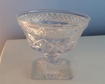 Crystal Dessert Pedestal Cup/bowl.