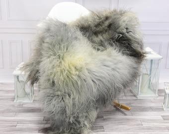 Icelandic Sheepskin | Real Sheepskin Rug | Gray Sheepskin Rug | Fur Rug | #islsept10