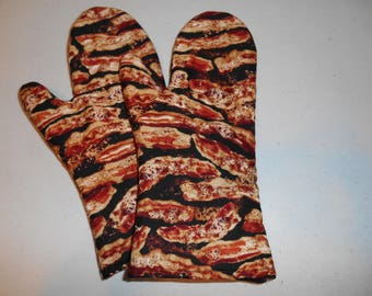 Bacon oven mitts