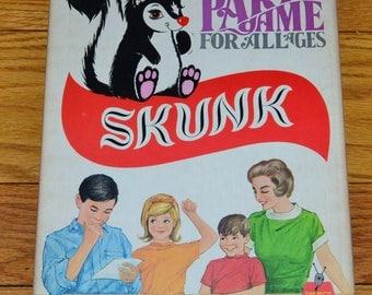 1968 Skunk Party Game Schaper #250 Still in Plastic