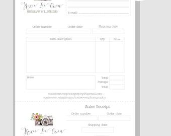 custom sales order books
