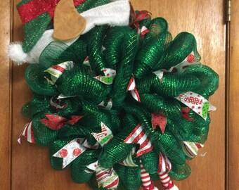 Christmas Elf Wreath