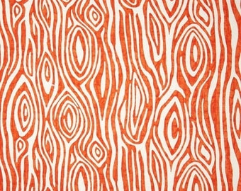 Orange Curtains | Etsy