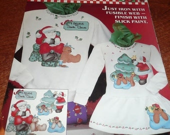 Daisy Kingdom No Sew Applique Sleepy Santa