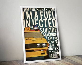 Mad Max poster alternative poster Interceptor poster Ford Falcon poster Max Rockatansky Car poster 80's poster Mel Gibson Car movie poster