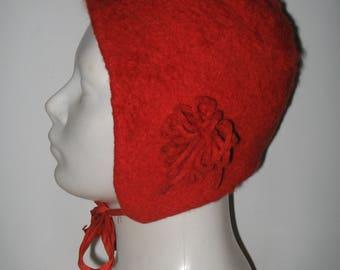Vintage Women's Felt Hats. 1970