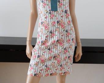 robe ALMATRICHI fleurie taille 38 / uk 10 / us 6