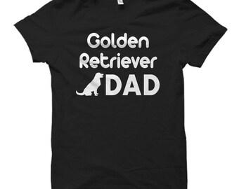 Golden Retriever Dad Shirt, Golden Retriever Dad Gift, Gift for Golden Retriever Dad, Golden Retriever Shirts, Golden Retriever Gifts #OS446