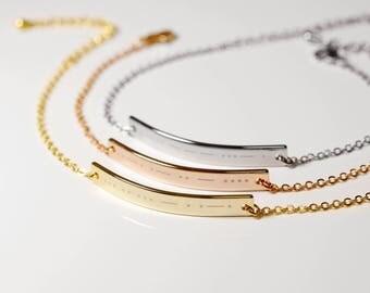 Custom Morse Code Bracelet Morse Code Jewelry Sister Gift Sister Bracelet Sister In Law gift bar Bracelet personalized - 10BR-MC