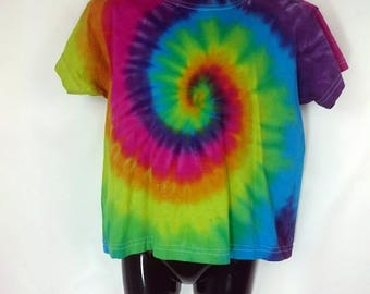 Children's tie dye, Rainbow tie dye, Tie dye t-shirt, Rainbow t-shirt, Children's t-shirt, Kids rainbow t-shirt, Tie dye, 3-4 years t-shirt