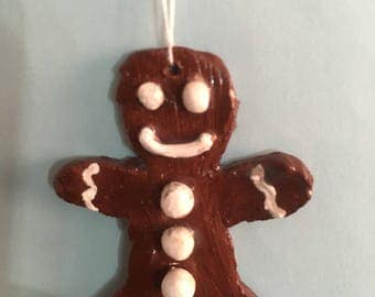 Mini Gingerbread man Ornament