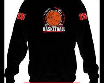 Basketball Team Hoodie, Basketball Mom Hoodie, Basketball Player Hoodie, Basketball Team Gift, Basketball Mom Gift