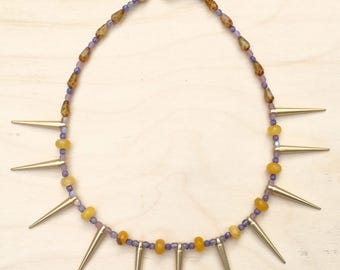 Bead & Gemstone Necklace