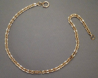 "14K Watch Chain 14"" #52"