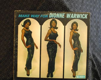 Make Way for Dionne Warwick Record LP Album