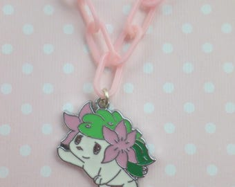 Shaymin Pokemon Inspired Necklace Fairy Kei Pastel