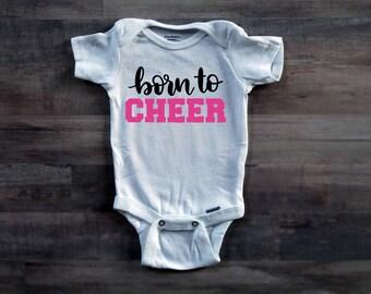Born To Cheer Onesie