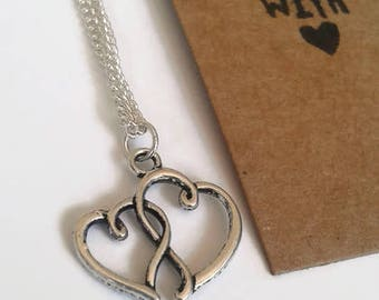Linking Hearts necklace
