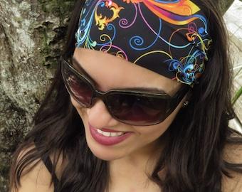 Running Headband Workout Headband Fitness Headband Yoga Headband Gym Headband Bohemian Headband Fashion Headband Wide Headband Turban S220
