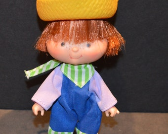 Vintage 1980's Huckleberry Pie Doll from the Strawberry Shortcake Collection