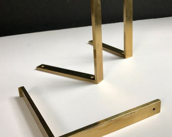 midcentury brass shelf shipping until jan 1